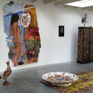 Aanraken Gewenst, Galerie Wit, Couzijn van Leeuwen, Lotte van Lieshout, Wageningen