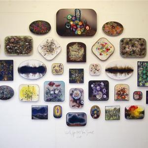 Van Rijn & Van Soest, overtekende foto's op paneel