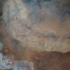 "Oswaldo Santana, 2008, Oswaldo Santana, 2008, ""Outras Terras I "", tempera vinyl with natural pigments"